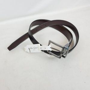 Robert Graham Men Reversible Belt Garrison Paisley